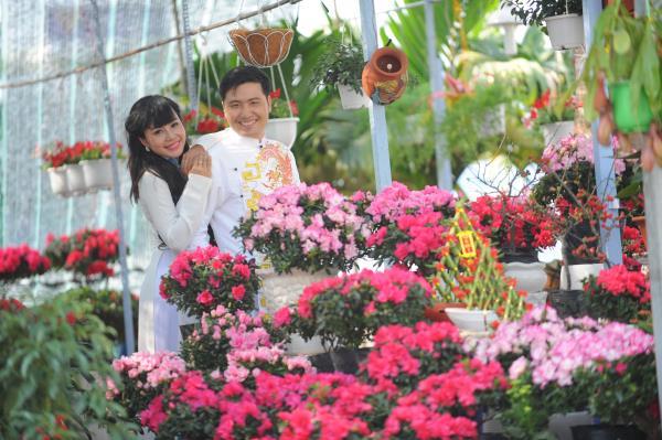 Ảnh cưới dễ thương, đẹp bình dị với cảnh quê sông nước và gánh hàng rong (10) tại Cưới hỏi trọn gói 365