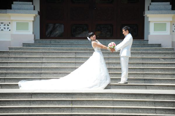 Ảnh cưới dễ thương, đẹp bình dị với cảnh quê sông nước và gánh hàng rong (21) tại Cưới hỏi trọn gói 365