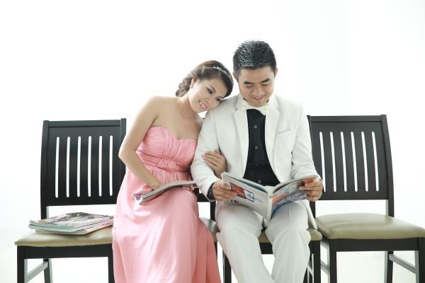 Ảnh cưới dễ thương, trong sáng, tự nhiên tông màu hồng xanh nhẹ nhàng (01) tại Cưới hỏi trọn gói 365