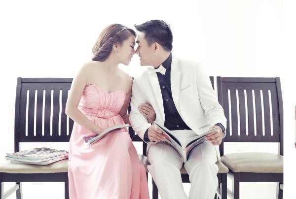 Ảnh cưới dễ thương, trong sáng, tự nhiên tông màu hồng xanh nhẹ nhàng (07) tại Cưới hỏi trọn gói 365