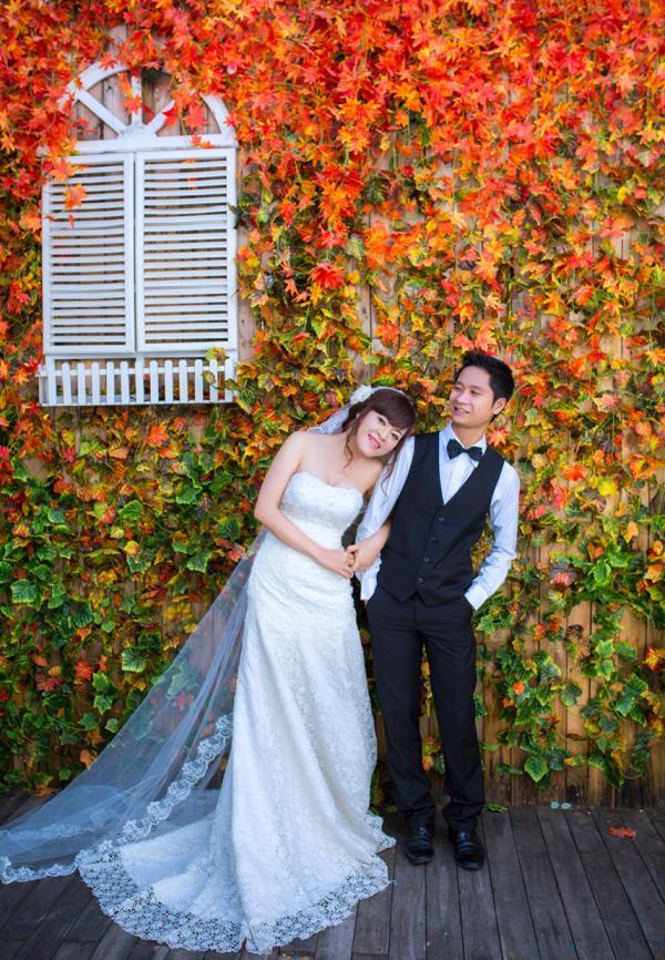Ảnh cưới đẹp dễ thương, lãng mạn với gam màu tươi sáng trong phim trường (17) tại Cưới hỏi trọn gói 365