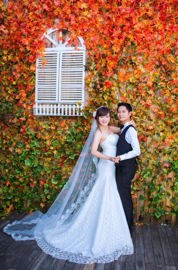 Ảnh cưới đẹp dễ thương, lãng mạn với gam màu tươi sáng trong phim trường (18) tại Cưới hỏi trọn gói 365