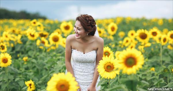 Ảnh cưới đẹp giữa mùa hoa hướng dương vàng rực rỡ ở Đà Lạt (6) tại Cưới hỏi trọn gói 365