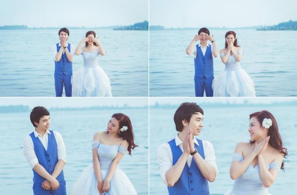 Ảnh cưới đẹp hồn nhiên với biển và rừng của cặp đôi trẻ trung (02) tại Cưới hỏi trọn gói 365