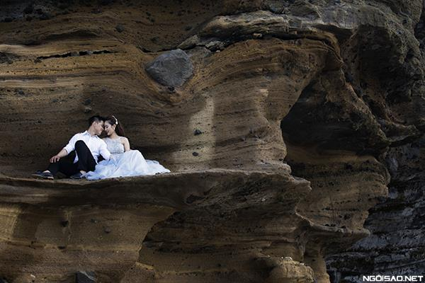 Ảnh cưới đẹp ở đảo Lý Sơn thật tự nhiên và dễ thương (03) tại Cưới hỏi trọn gói 365
