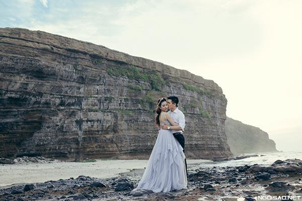 Ảnh cưới đẹp ở đảo Lý Sơn thật tự nhiên và dễ thương (09) tại Cưới hỏi trọn gói 365