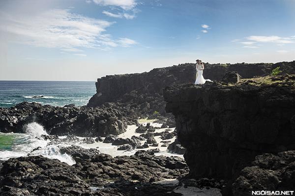 Ảnh cưới đẹp ở đảo Lý Sơn thật tự nhiên và dễ thương (10) tại Cưới hỏi trọn gói 365
