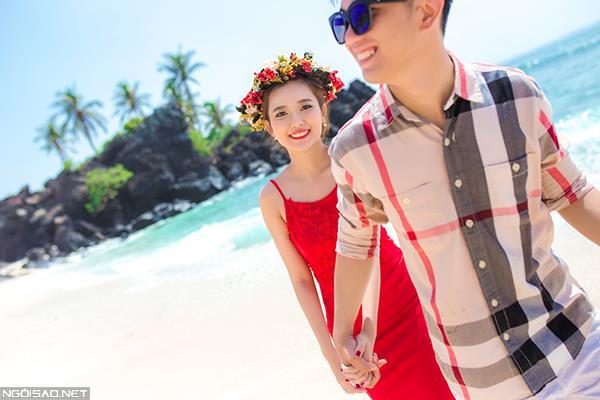 Ảnh cưới đẹp ở đảo Lý Sơn thật tự nhiên và dễ thương (13) tại Cưới hỏi trọn gói 365