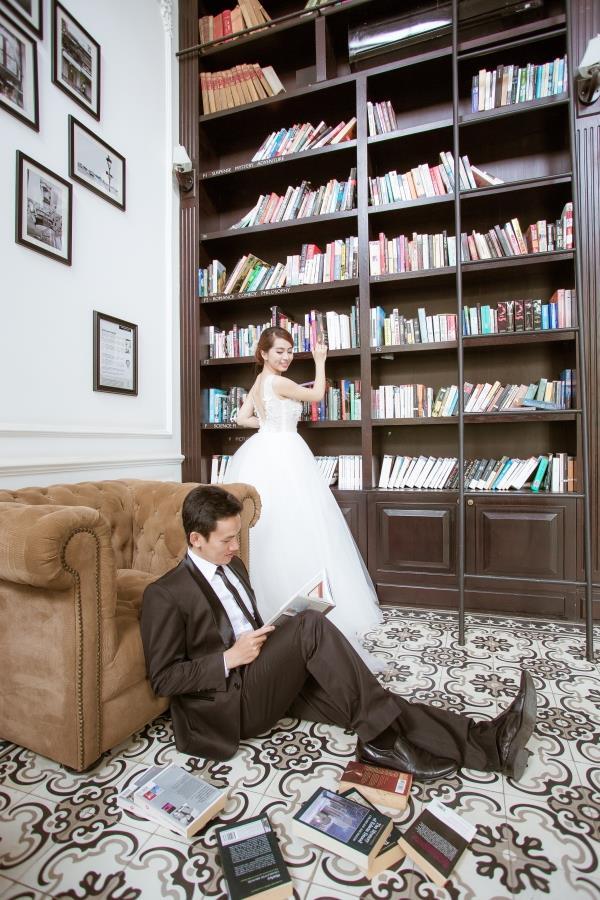 Ảnh cưới đẹp trong veo của cặp đôi trẻ trung, dễ thương trong phim trường và ngoại cảnh (06) tại Cưới hỏi trọn gói 365
