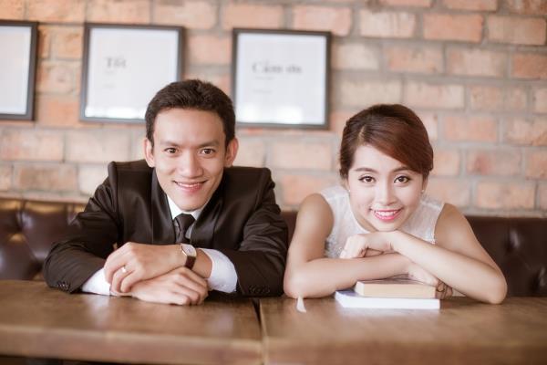 Ảnh cưới đẹp trong veo của cặp đôi trẻ trung, dễ thương trong phim trường và ngoại cảnh (10) tại Cưới hỏi trọn gói 365