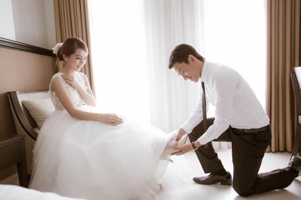 Ảnh cưới đẹp trong veo của cặp đôi trẻ trung, dễ thương trong phim trường và ngoại cảnh (11) tại Cưới hỏi trọn gói 365