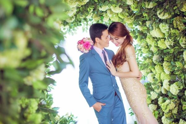 Ảnh cưới đẹp trong veo của cặp đôi trẻ trung, dễ thương trong phim trường và ngoại cảnh (18) tại Cưới hỏi trọn gói 365