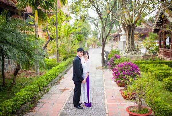 Ảnh cưới đẹp, tự nhiên, lãng mạn với cảnh thiên nhiên sóng động, đắm say lòng người (23) tại Cưới hỏi trọn gói 365