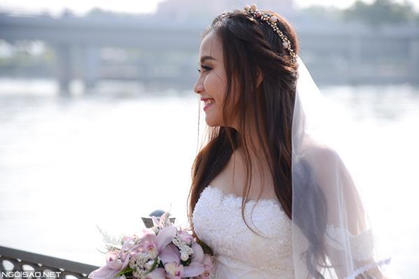 Ảnh cưới đẹp tự nhiên, tươi vui hạnh phúc của én vàng Khánh Ly tại Sài Gòn (01) tại Cưới hỏi trọn gói 365
