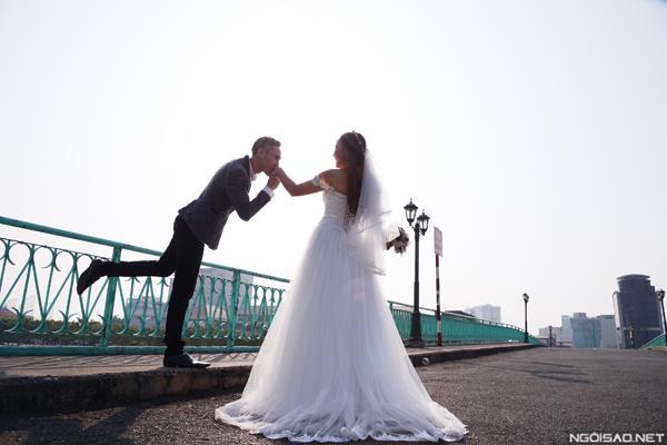 Ảnh cưới đẹp tự nhiên, tươi vui hạnh phúc của én vàng Khánh Ly tại Sài Gòn (02) tại Cưới hỏi trọn gói 365