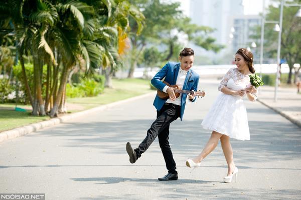 Ảnh cưới đẹp tự nhiên, tươi vui hạnh phúc của én vàng Khánh Ly tại Sài Gòn (05) tại Cưới hỏi trọn gói 365