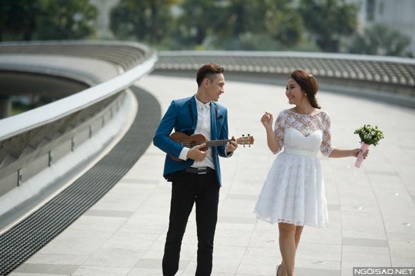 Ảnh cưới đẹp tự nhiên, tươi vui hạnh phúc của én vàng Khánh Ly tại Sài Gòn (06) tại Cưới hỏi trọn gói 365