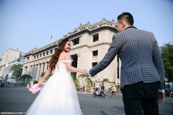 Ảnh cưới đẹp tự nhiên, tươi vui hạnh phúc của én vàng Khánh Ly tại Sài Gòn (12) tại Cưới hỏi trọn gói 365