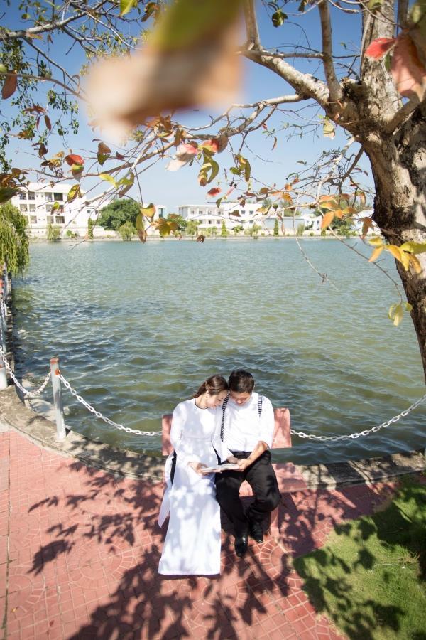 Ảnh cưới đẹp tự nhiên với sông nước và cảnh thiên nhiên bình dị (10) tại Cưới hỏi trọn gói 365