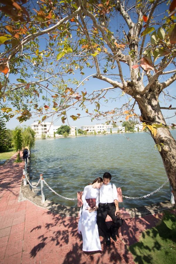 Ảnh cưới đẹp tự nhiên với sông nước và cảnh thiên nhiên bình dị (11) tại Cưới hỏi trọn gói 365