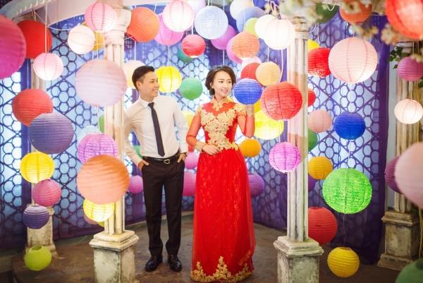 Ảnh cưới đẹp tươi trong phim trường và cảnh tự nhiên với cô dâu chú rể xứng lứa vừa đôi (15) tại Cưới hỏi trọn gói 365
