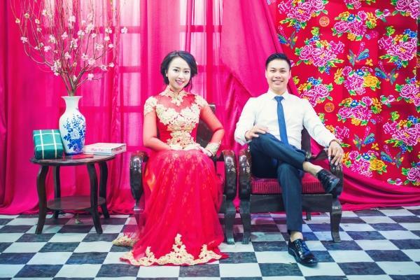 Ảnh cưới đẹp tươi trong phim trường và cảnh tự nhiên với cô dâu chú rể xứng lứa vừa đôi (16) tại Cưới hỏi trọn gói 365