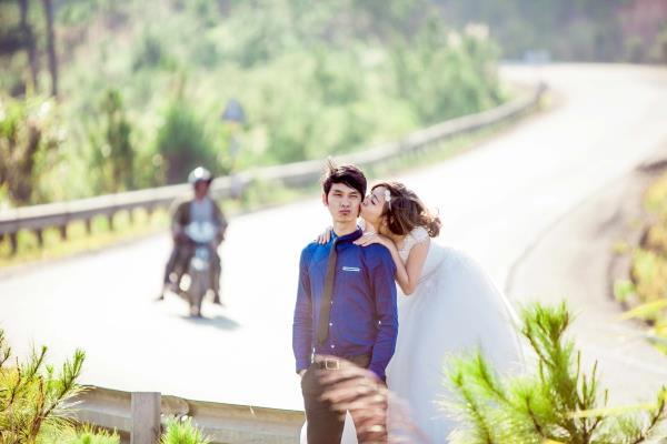 Ảnh cưới đẹp tươi, trong sáng, mát lành tại thiên đường tình yêu Đà Lạt (01) tại Cưới hỏi trọn gói 365