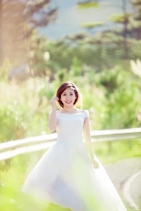 Ảnh cưới đẹp tươi, trong sáng, mát lành tại thiên đường tình yêu Đà Lạt (03) tại Cưới hỏi trọn gói 365