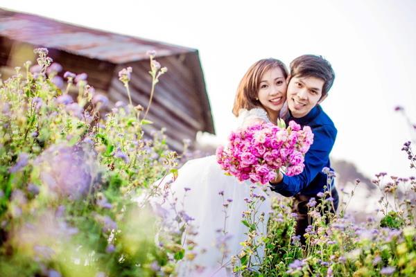Ảnh cưới đẹp tươi, trong sáng, mát lành tại thiên đường tình yêu Đà Lạt (05) tại Cưới hỏi trọn gói 365