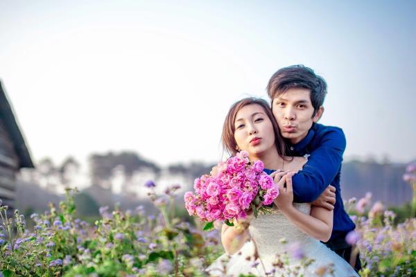 Ảnh cưới đẹp tươi, trong sáng, mát lành tại thiên đường tình yêu Đà Lạt (06) tại Cưới hỏi trọn gói 365
