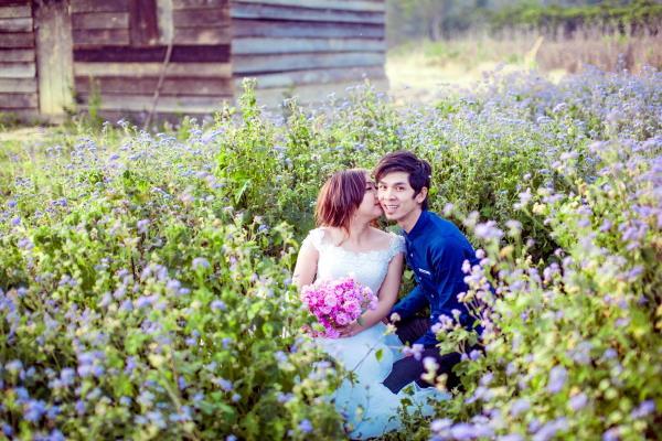 Ảnh cưới đẹp tươi, trong sáng, mát lành tại thiên đường tình yêu Đà Lạt (07) tại Cưới hỏi trọn gói 365