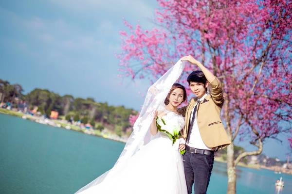 Ảnh cưới đẹp tươi, trong sáng, mát lành tại thiên đường tình yêu Đà Lạt (11) tại Cưới hỏi trọn gói 365