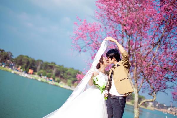 Ảnh cưới đẹp tươi, trong sáng, mát lành tại thiên đường tình yêu Đà Lạt (12) tại Cưới hỏi trọn gói 365