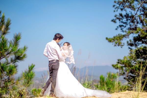 Ảnh cưới đẹp tươi, trong sáng, mát lành tại thiên đường tình yêu Đà Lạt (13) tại Cưới hỏi trọn gói 365