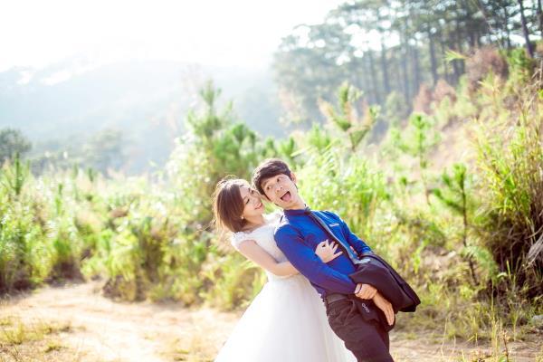 Ảnh cưới đẹp tươi, trong sáng, mát lành tại thiên đường tình yêu Đà Lạt (14) tại Cưới hỏi trọn gói 365