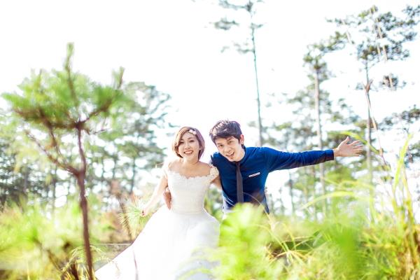 Ảnh cưới đẹp tươi, trong sáng, mát lành tại thiên đường tình yêu Đà Lạt (15) tại Cưới hỏi trọn gói 365