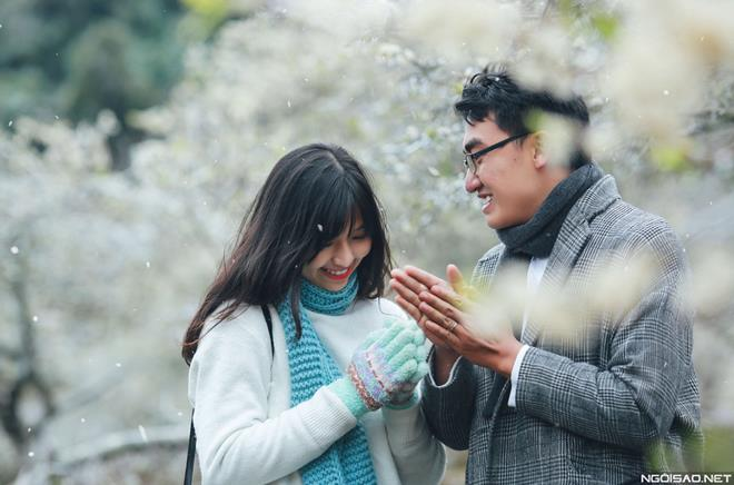 Ảnh cưới đẹp với băng tuyết của cặp đôi Sài Gòn tại Mộc Châu (02) tại Cưới hỏi trọn gói 365