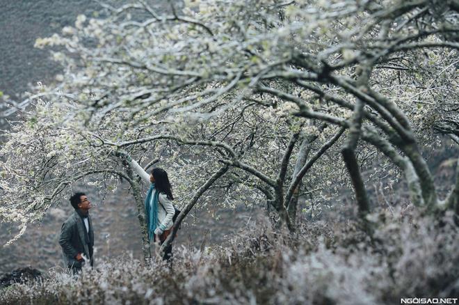 Ảnh cưới đẹp với băng tuyết của cặp đôi Sài Gòn tại Mộc Châu (05) tại Cưới hỏi trọn gói 365