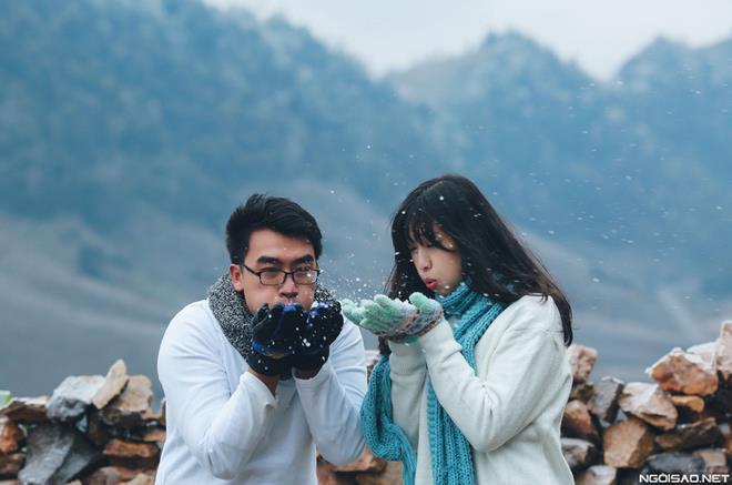 Ảnh cưới đẹp với băng tuyết của cặp đôi Sài Gòn tại Mộc Châu (10) tại Cưới hỏi trọn gói 365
