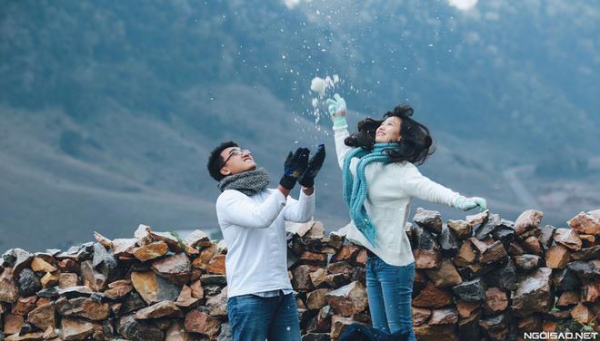 Ảnh cưới đẹp với băng tuyết của cặp đôi Sài Gòn tại Mộc Châu (11) tại Cưới hỏi trọn gói 365