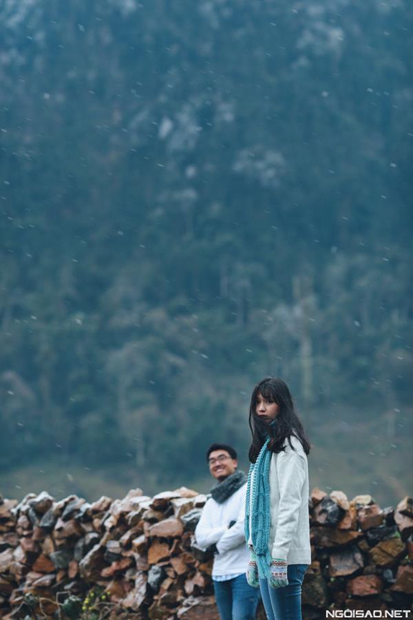 Ảnh cưới đẹp với băng tuyết của cặp đôi Sài Gòn tại Mộc Châu (12) tại Cưới hỏi trọn gói 365