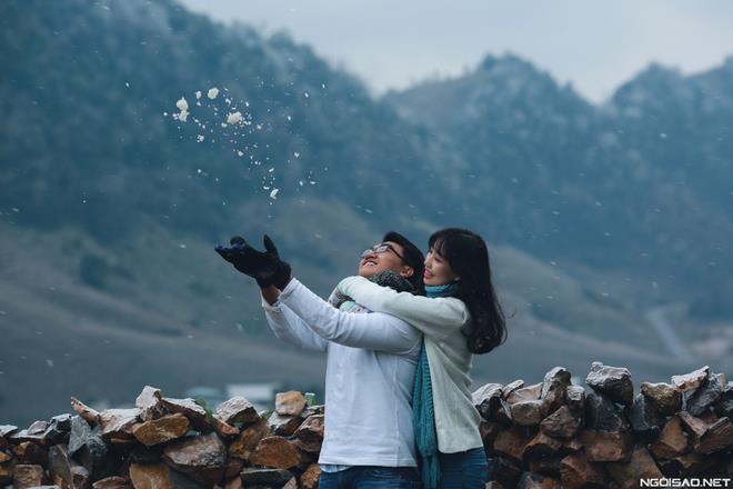 Ảnh cưới đẹp với băng tuyết của cặp đôi Sài Gòn tại Mộc Châu (14) tại Cưới hỏi trọn gói 365