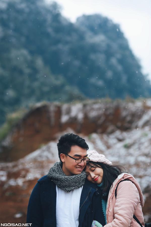 Ảnh cưới đẹp với băng tuyết của cặp đôi Sài Gòn tại Mộc Châu (15) tại Cưới hỏi trọn gói 365