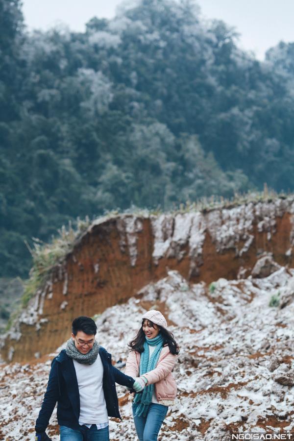 Ảnh cưới đẹp với băng tuyết của cặp đôi Sài Gòn tại Mộc Châu (16) tại Cưới hỏi trọn gói 365