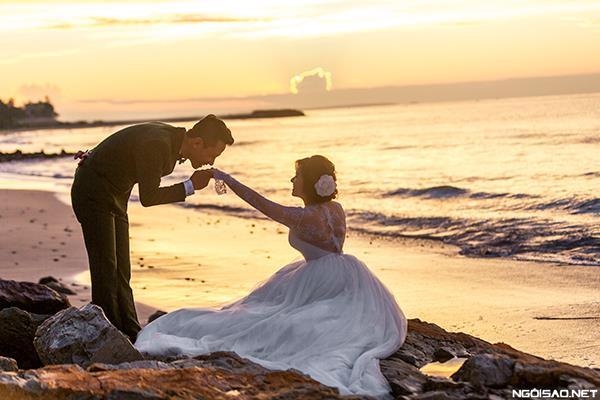 Ảnh cưới đẹp với nắng hoàng hôn của buổi chiều vàng (4) tại Cưới hỏi trọn gói 365