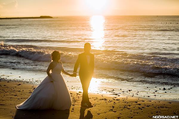 Ảnh cưới đẹp với nắng hoàng hôn của buổi chiều vàng (5) tại Cưới hỏi trọn gói 365