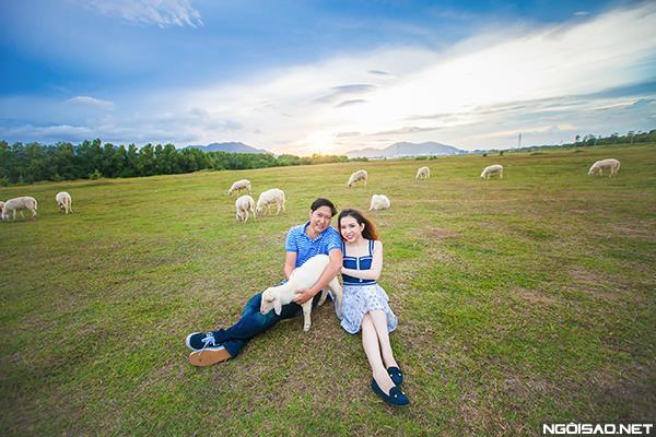 Ảnh cưới độc và lạ của cô dâu chú rể tươi trẻ cùng đàn cừu (03) tại Cưới hỏi trọn gói 365