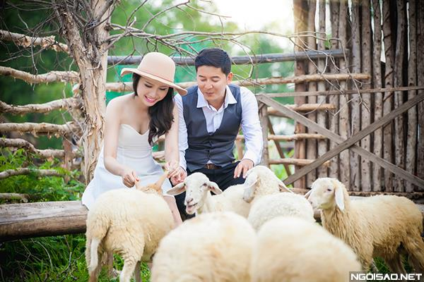 Ảnh cưới độc và lạ của cô dâu chú rể tươi trẻ cùng đàn cừu (07) tại Cưới hỏi trọn gói 365