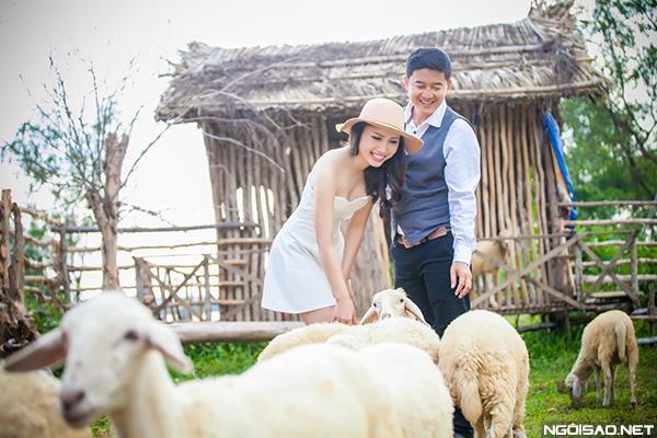 Ảnh cưới độc và lạ của cô dâu chú rể tươi trẻ cùng đàn cừu (08) tại Cưới hỏi trọn gói 365