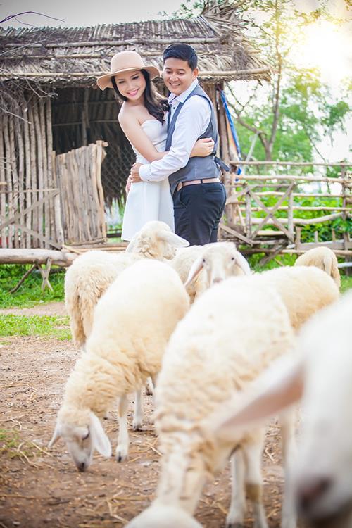 Ảnh cưới độc và lạ của cô dâu chú rể tươi trẻ cùng đàn cừu (09) tại Cưới hỏi trọn gói 365